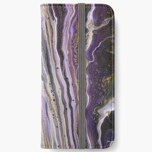 Purple Hive iPhone Wallet