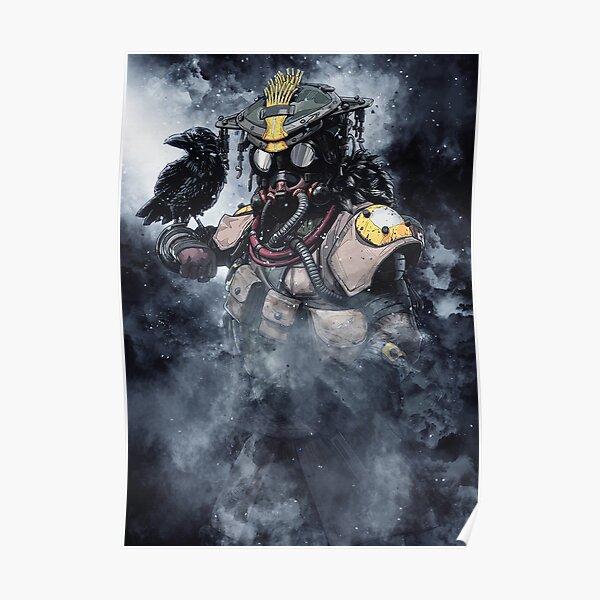 Cartel del sabueso de las leyendas de Apex Póster