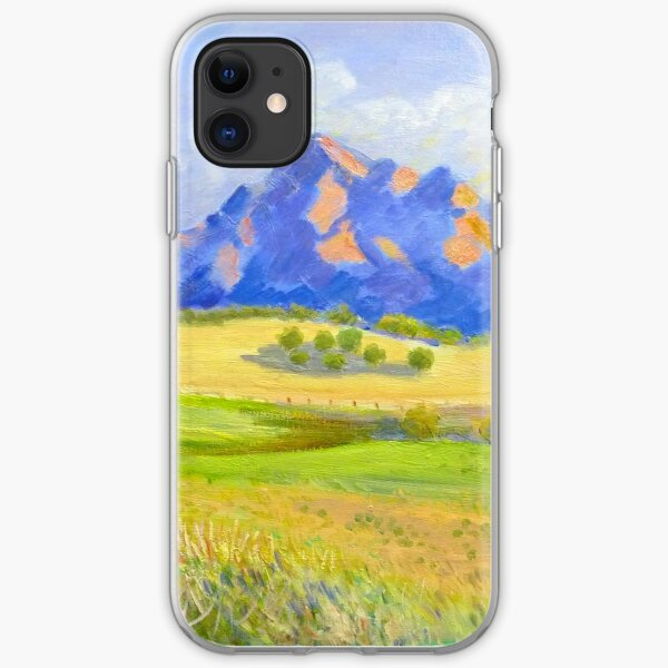 Mt Barney # 2 iPhone Soft Case