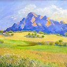Mt Barney # 2 by Virginia McGowan