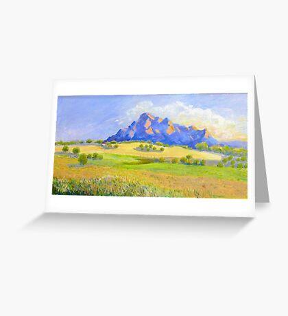 Mt Barney # 2 Greeting Card