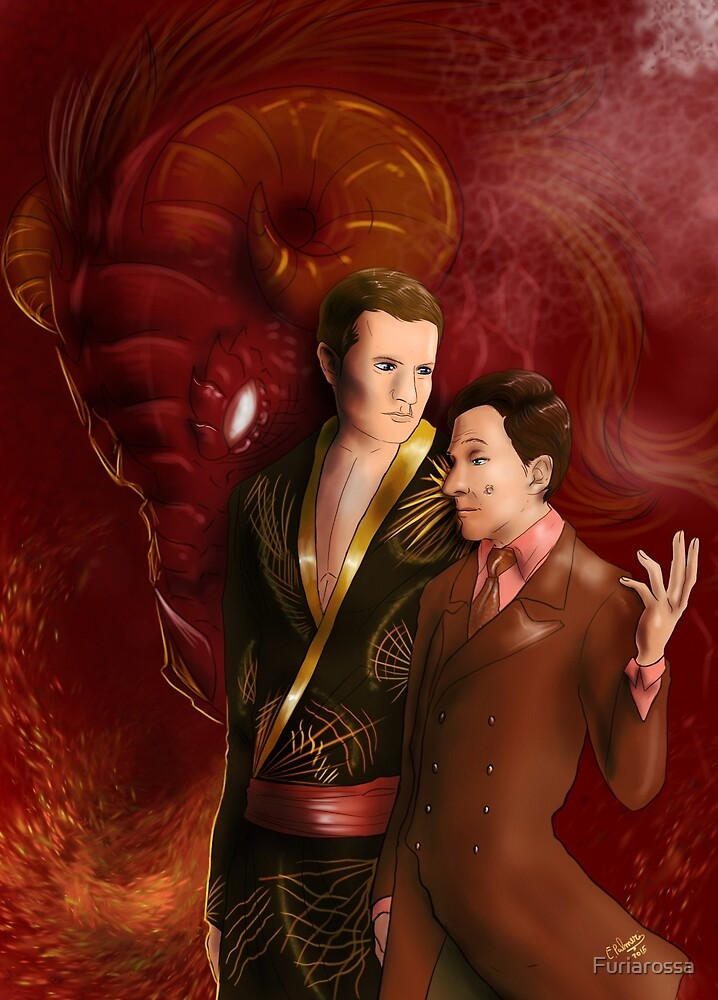 Hannibal - The Psychiatrist and the Dragon by Furiarossa