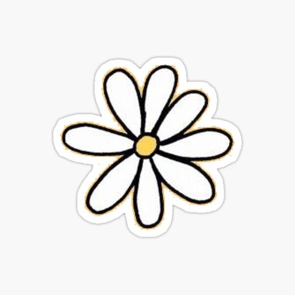small daisy Sticker