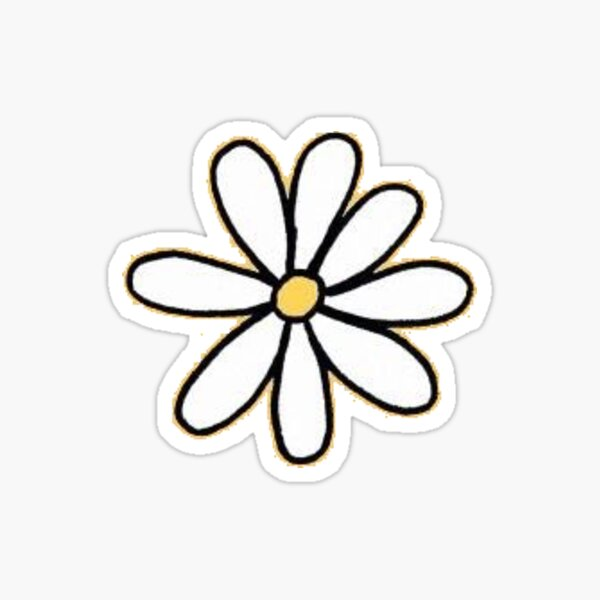 small daisy Sticker
