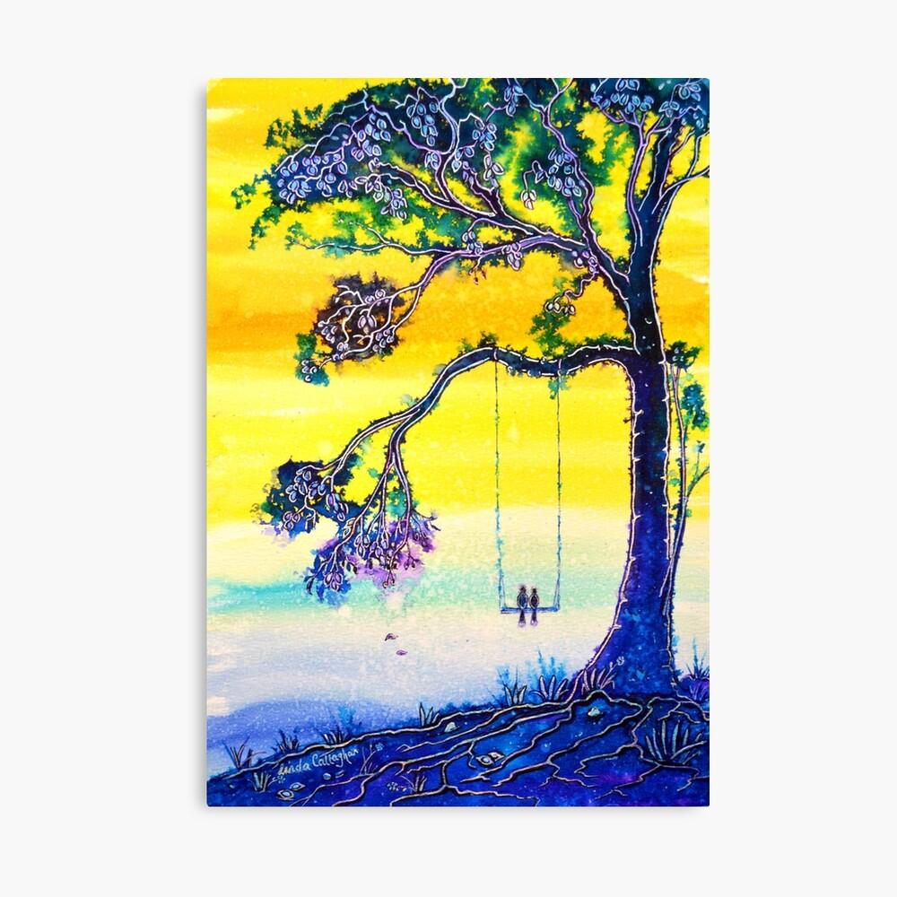 Trees - Bliss Canvas Print