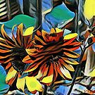 Dreaming of Sunflowers I by dthunderhawk