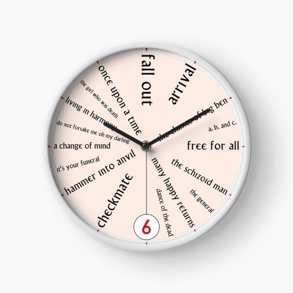 The Prisoner Clock Clock