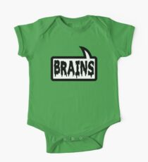 BRAINS by Bubble-Tees.com One Piece - Short Sleeve