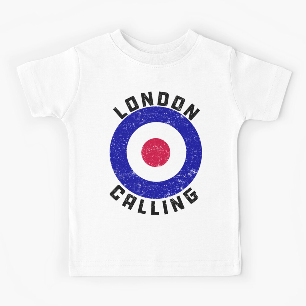 London Calling all the Punks! Kids T-Shirt