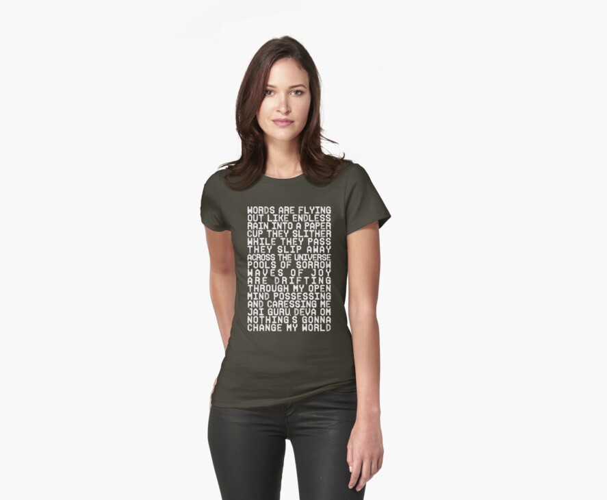 ACROSS THE UNIVERSE (white) by TheLoveShop