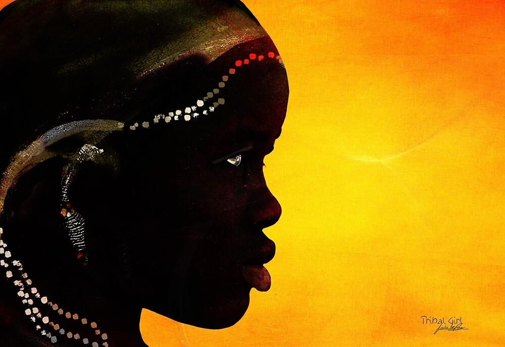 Tribal Girl by Juliemrae