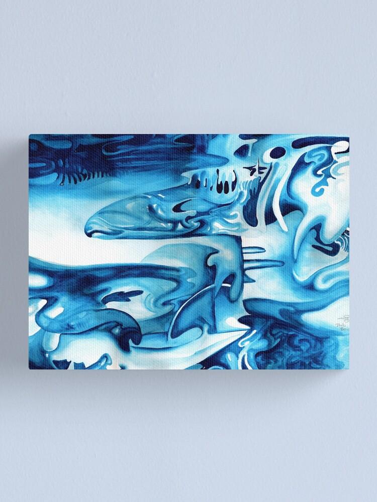 Alternate view of Thalo Beach Canvas Print