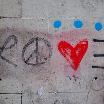 Amor en graffiti de ShootFirstNYC