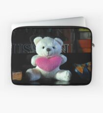Dreisprachiger Teddy Laptoptasche