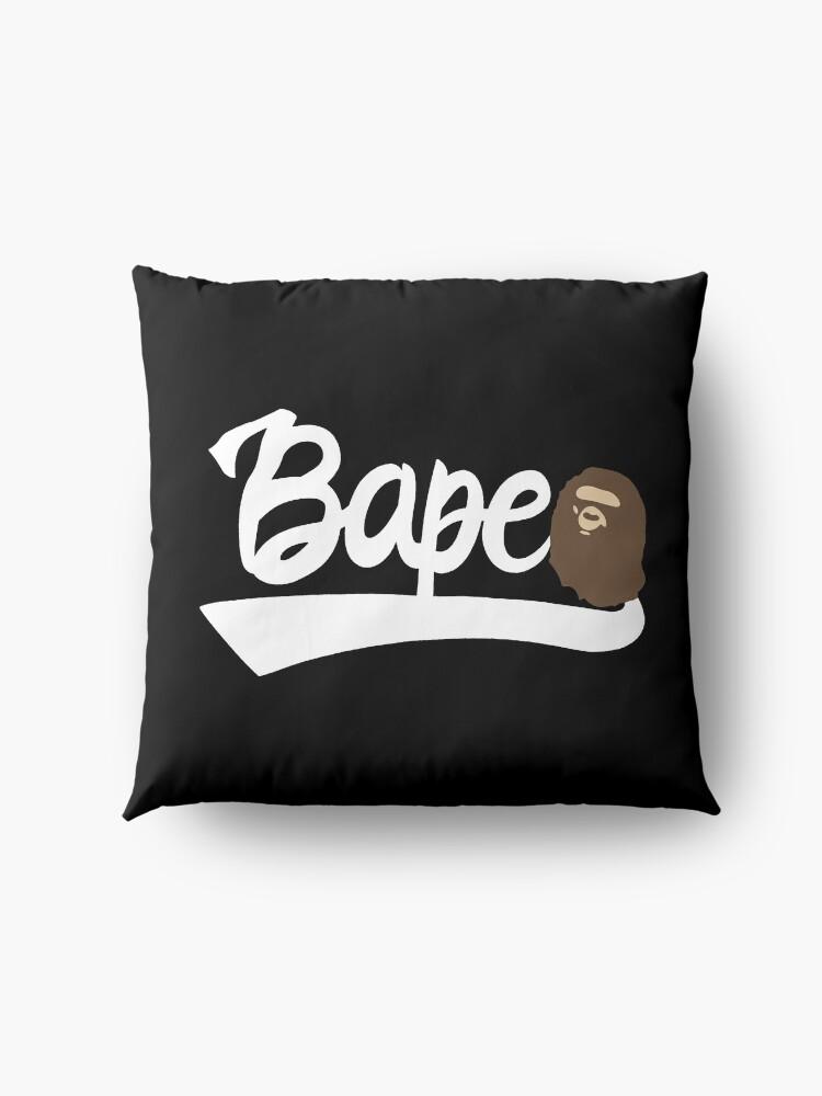 Alternate view of Bape Text Floor Pillow