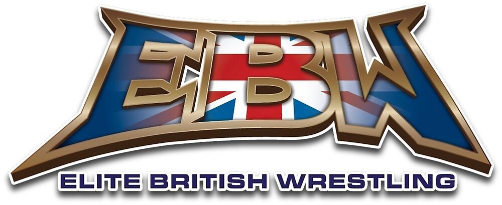 EBW - Elite British Wrestling Official T-Shirt by EBWWrestling