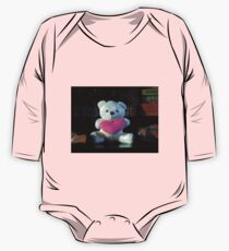 Dreisprachiger Teddy Baby Body Langarm