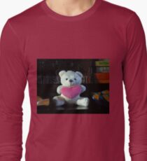 Dreisprachiger Teddy Langarmshirt