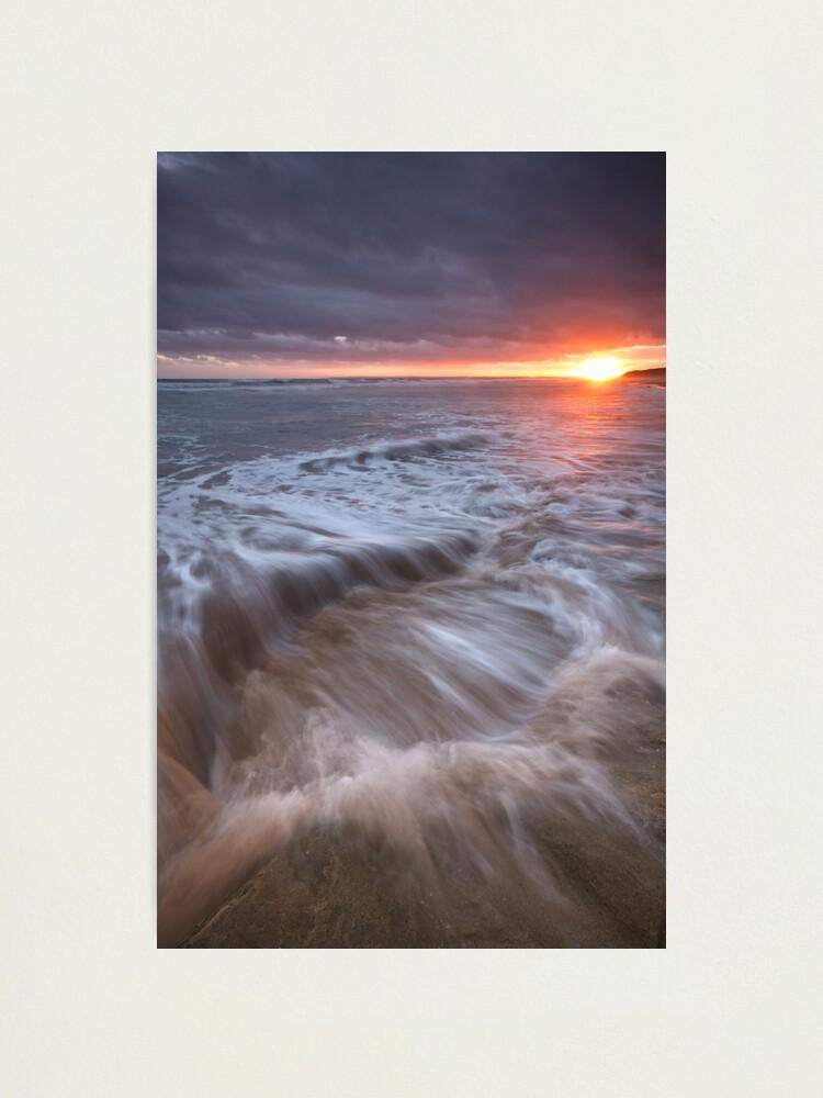 Alternate view of Ocean Bath Photographic Print
