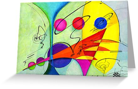 The Marriage Abstract by Alma Lee