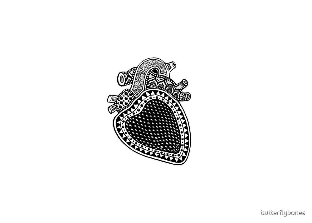 Strawberry Heart by butterflybones