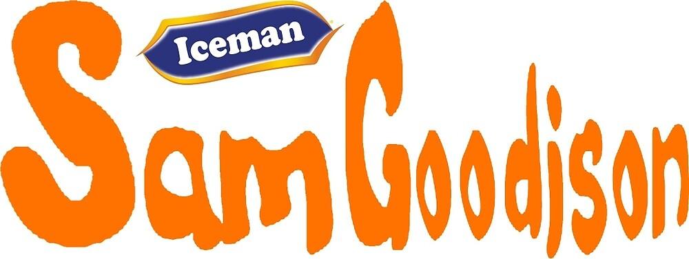 EBW - Iceman Sam Goodison T-Shirt by EBWWrestling