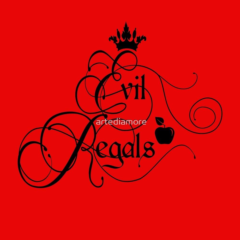 Evil Regals by artediamore