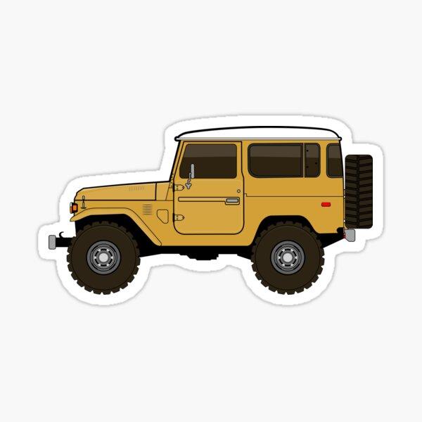 fj40 Land Cruiser Sticker