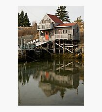 Blue Rocks Nova Scotia Photographic Print