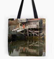 Blue Rocks Nova Scotia Tote Bag