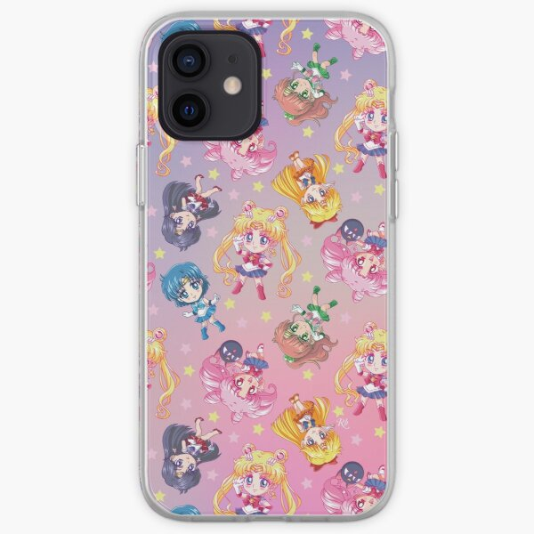 Crystal Team Pattern iPhone Soft Case