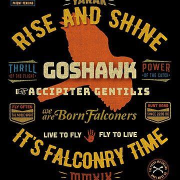 Hawking Falconer's Goshawk Shirts Hawking Falconry Supplies Clothing and Gifts by manbird