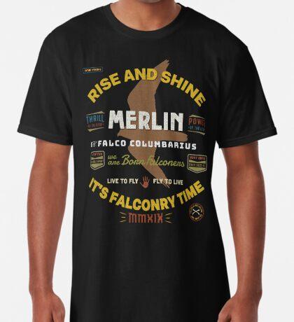 Merlin Falconers Shirt, Falconer Falconry Supplies Shirts Long T-Shirt
