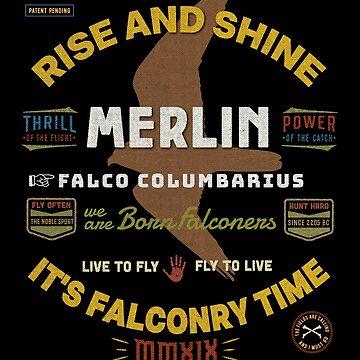 Merlin Falconers Shirt, Falconer Falconry Supplies Shirts by manbird