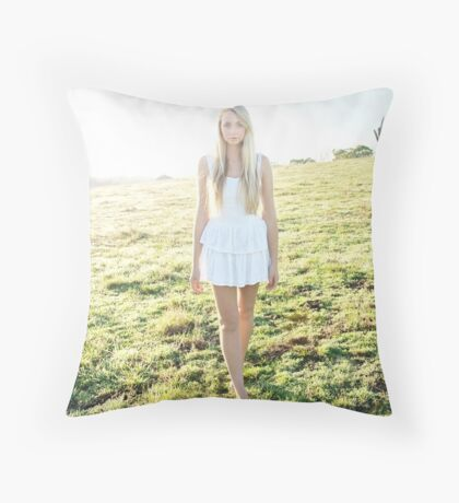 Morning Sun Throw Pillow