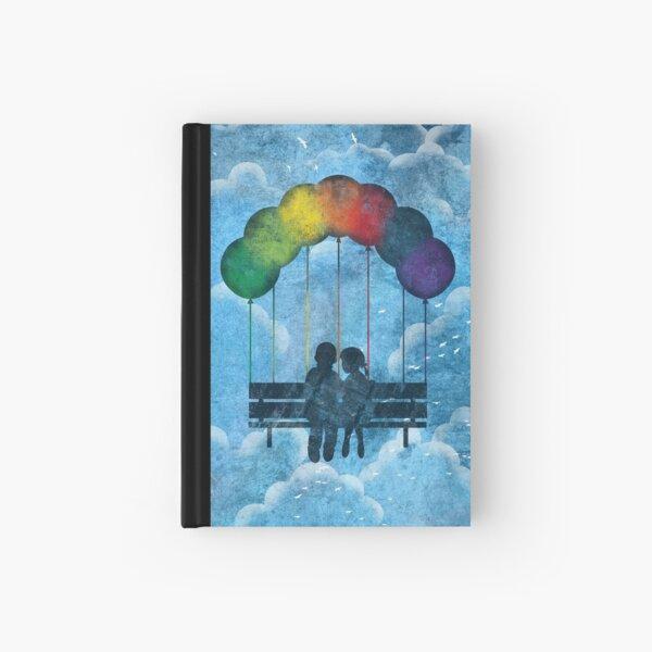 Under The Rainbow Hardcover Journal