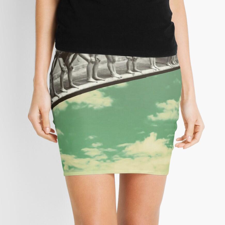"""""""Skydiving"""" Mini Skirt"""