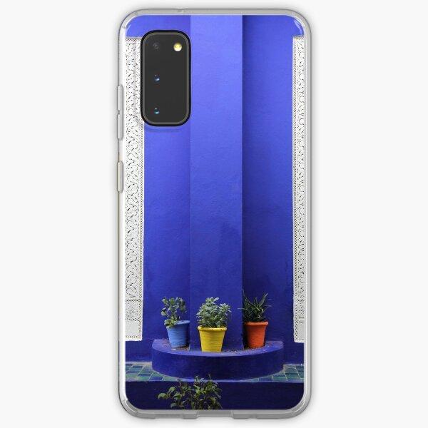 MAJORELLE GARDEN MARRAKECH; TIME TO TAKE TEA Samsung Galaxy Soft Case