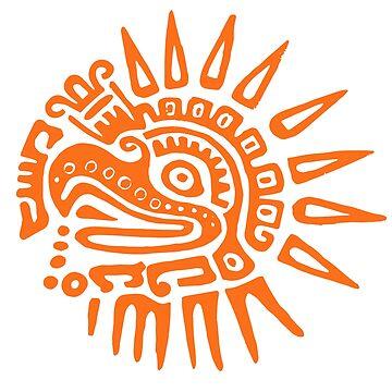 Ruler for 20 Days - ORANGE - Hueitetollin, Veracruz  by TheWhiteBear