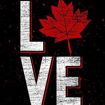 Canada love by GeschenkIdee