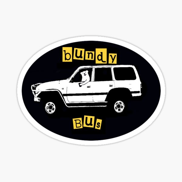rum bus bundy land cruiser 80 series Sticker