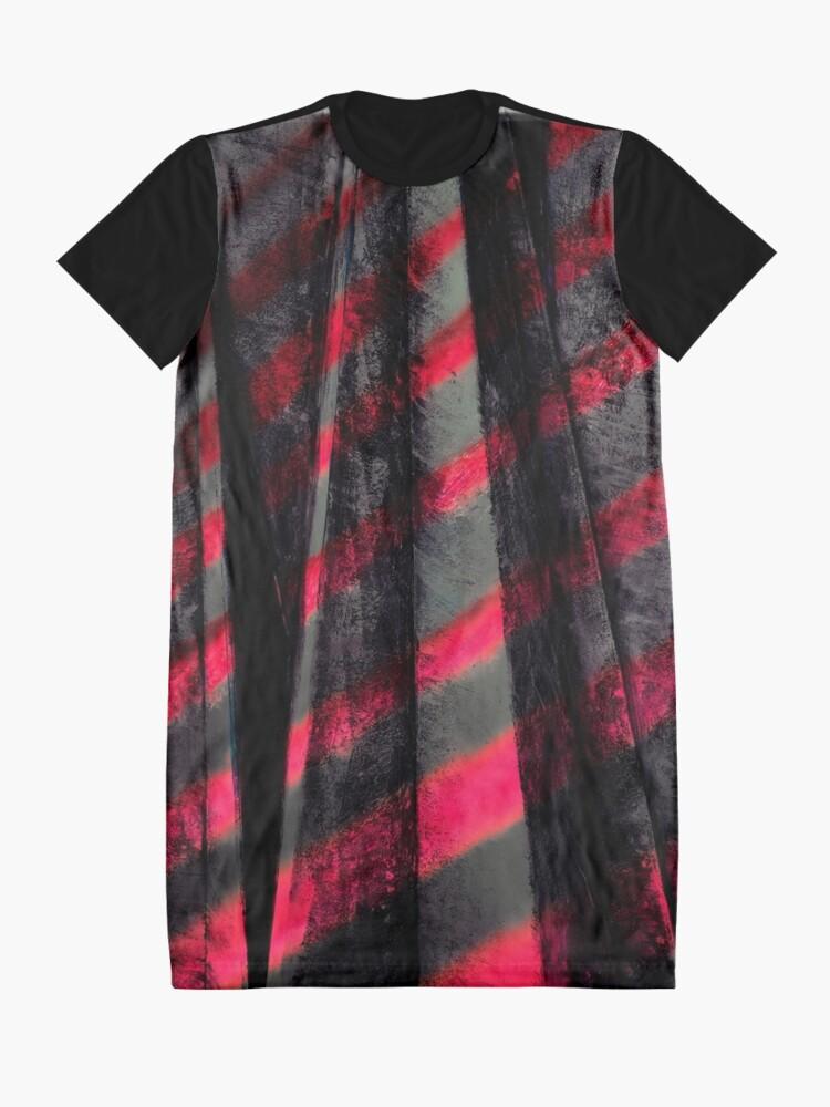 Alternative Ansicht von Zebra T-Shirt Kleid