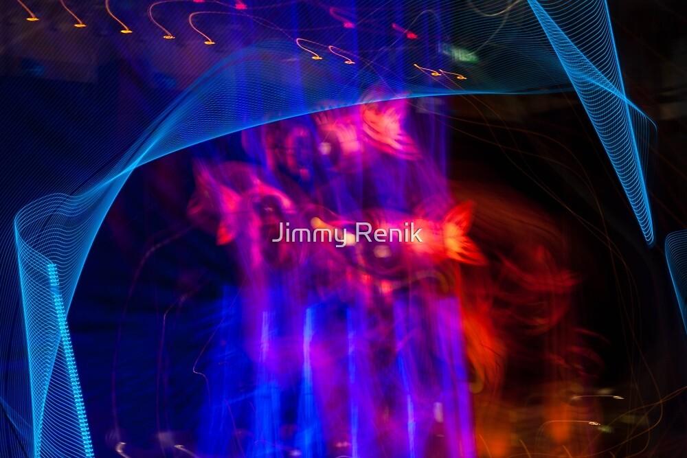 Netting the night skyfish by Jimmy Renik