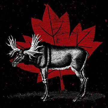 Canada moose by GeschenkIdee