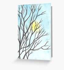 Dusk Greeting Card