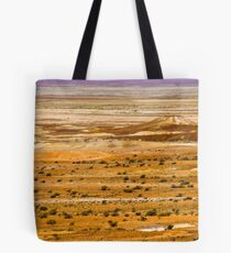 The vivid palette of the Breakaways, South Australia. Tote Bag