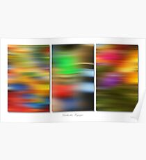 Galactic Voyage (Triptych) Poster