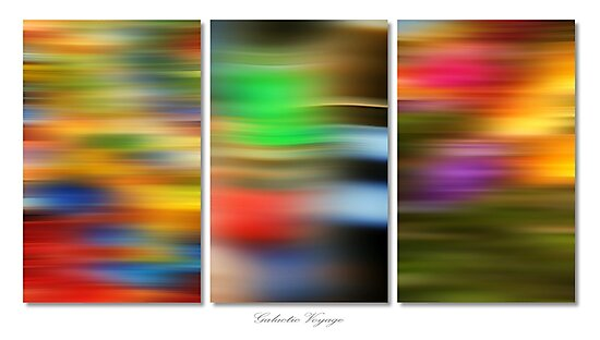 Galactic Voyage (Triptych) by George Parapadakis ARPS (monocotylidono)