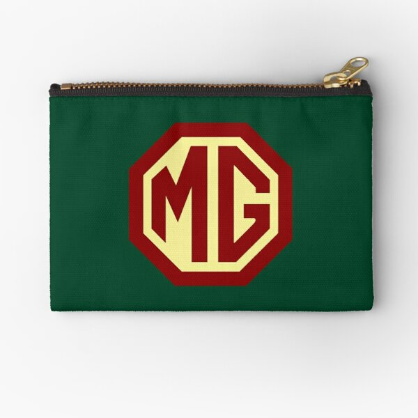 Classic Cars Logo - MG Zipper Pouch