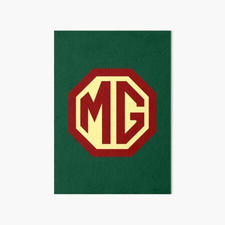 Oldtimer Logo - MG Galeriedruck